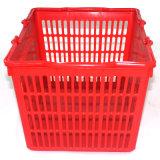 Корзина для товаров супермаркета новой конструкции пластичная