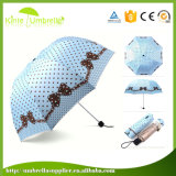 3 coloridos dobram o mini costume do guarda-chuva