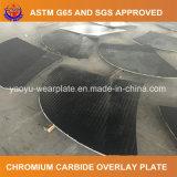 Плита верхнего слоя хромия Hardfaced карбидом