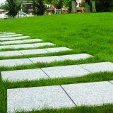 中国の広東省の屋上庭園の石は反スリップの低価格の屋外の連結の花こう岩の床タイルのマットをタイルを張る