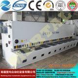 Máquina que pela hidráulica de la placa de la hoja con control del CNC