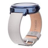 riem van de Armband van het Leer van 20mm de Zachtere voor de Band van Smartwatch van de Sport van het Toestel van Samsung