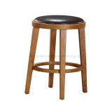 Tabouret de bar-restaurant chaises avec rembourrage de PU (SS-02)