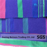 16mm listras longitudinais 44% Seda 56% de tecido de algodão