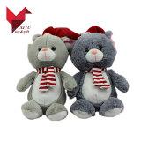 Urso feito sob encomenda da peluche do brinquedo do luxuoso do Natal da série do Xmas