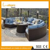 Vector de patio de la cuerda del poliester del ocio del hogar del hotel de la alta calidad y muebles al aire libre modernos del jardín de los diseños de la silla