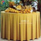 Factory Direct Prix utilisé pour la promotion de la table de mariage chiffon Hly-Tc01