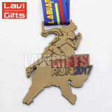 Le métal fait sur commande meilleur marché de sport de récompense de qualité adoube la médaille de Templar