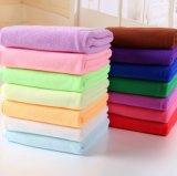 Toalha de banho colorida Microfiber Quick-Dry do poliéster da promoção barata