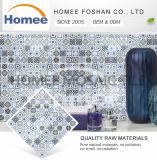 L'étain carré a décoré des tuiles en verre pour la mosaïque à la maison de cuisine de décoration