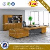 Bureau de couleur de noir en verre Tempered /Table (HX-8NE020C)