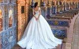 Амели скалистых 2018 кружева с Муфтовый платье свадебные платья