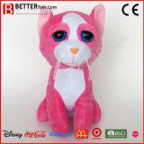 安い昇進のギフトによって詰められるプラシ天の動物の柔らかいおもちゃ猫