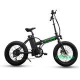 Алюминиевый E-Bike Bike 20inch крейсера пляжа сплава тучный складывая электрический Bike