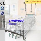 病院の3クランクの手動整形外科のベッド