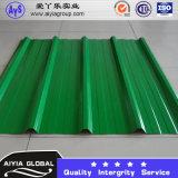 PPGIのカラーによって塗られるAlu亜鉛によって波形を付けられる屋根シートの波のタイル