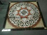Alfombra Puzzle Brwon Rojo Diseño baldosas en el Livingroom