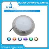 Montado en la superficie de 12V LED multicolor bajo el agua de la luz de la Piscina