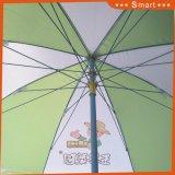 Förderung-Strandsun-Sonnenschirm, Strand-Regenschirm bekanntmachend