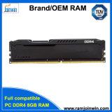 Unbeffered памяти DDR4 8 ГБ ОЗУ для игр черного цвета теплоотвода 1866/2133/2400 Мгц