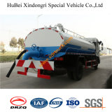 carro séptico Euro4 de las aguas residuales de la succión de 10cbm Dongfeng