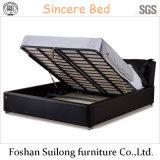 Lb06 현대 가죽 침대