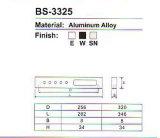 BS-3225 알루미늄 합금 내각 손잡이 시리즈
