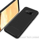 Новый корпус из углеродного волокна TPU чехол для телефона Samsung S8 плюс