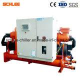 Handelsäthylenglykol-/Salzlösung-wassergekühlter Schrauben-Eis-Eisbahnen-Wasser-Kühler