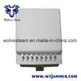 De regelbare 3G 4G Stoorzender van het Signaal van WiFi van de Telefoon van Wimax Mobiele met bulit-in RichtingAntenne