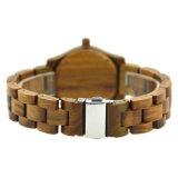 2018 высокого качества Vogue дамы наручные часы мужчин бамбуковой древесины смотреть
