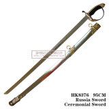 Espadas européias que comandam a espada cerimonial 96cm HK8376 da espada de Rússia da espada
