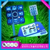Tast-LED geprägter Metallabdeckung-Membranschalter für Kühlraum
