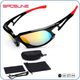 Niedrige MOQ Anti-Löschen Einspritzung Eyewear Nacht polarisierte Sonnenbrillen für Polizei