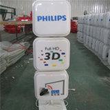 A fábrica profissional de China que anuncia a loja ao ar livre nomeia a letra para a decoração