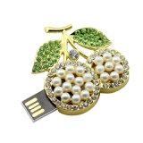 Ювелирные изделия Crystal фруктов вишня модель USB Flash Memory Stick™
