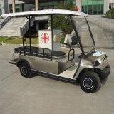 4つのシートの電気ゴルフ救急車車