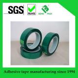 hitzebeständiges abdeckendes grünes Polyester-Band des Haustier-180c&400f