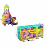 教育構築のおもちゃの子供のエヴァのブロック、おもちゃの煉瓦