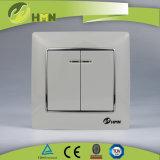 Gruppo variopinto del piatto certificato CE/TUV/CB 2 di standard europeo CON l'interruttore della parete dell'ORO del LED