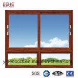 Vidro de deslizamento desobstruído Windows do indicador com alumínio