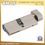 Euro laiton de profil/cylindre 2 de blocage cylindre de zinc/blocage de porte