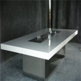تصميم جديدة اصطناعيّة رخاميّة مكتب طاولة/أكريليكيّ [كنفرنس تبل]/[كرين] [ميتينغ تبل]