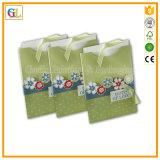 Sacchetto su ordinazione della carta kraft di stampa di marchio