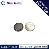 Mercury&Cadmium自由な中国の工場大きさ腕時計(1.5V AG12/LR43/386)のためのアルカリボタンのセル
