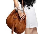 2개의 Handbag 색깔 PU 숙녀 어깨에 매는 가방 끈달린 가방 핸드백