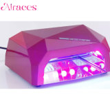 못 젤 치료를 위한 LED 가벼운 UV 램프를 네일링하십시오