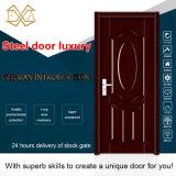 Puerta de acero de la calidad del traspaso térmico de la entrada excelente del apartamento (SX-16-0005)