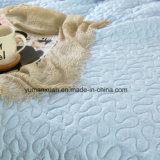 Edredón acolchado ciánico 100% del algodón del estilo americano para los lechos