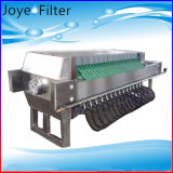 Antiacide intense/filtre-presse fermé encastré par alcali